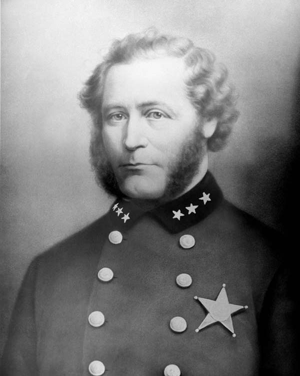 General Superintendent of Police Cyrus Parker Bradley (1861 - 1862)