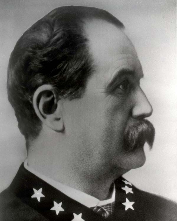 General Superintendent of Police Jacob Rehm (1863 - 1863)