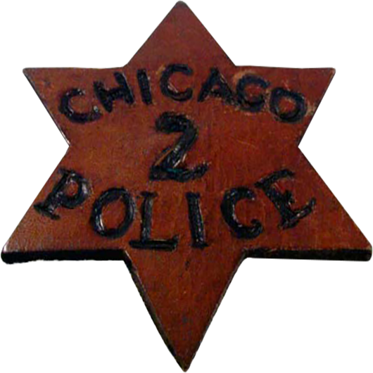1830 Police Star Obverse