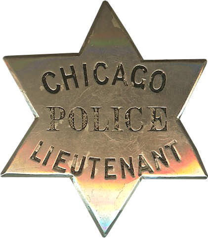 1861 Series - Chicago Police Lieutenant Star - Obverse