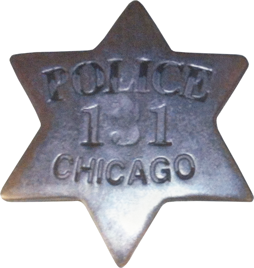 1861 Series - Chicago Police Patrolman Star - 2nd Issue Obverse