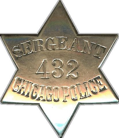 1861 Series - Chicago Police Sergeant - Obverse