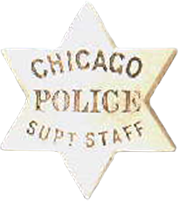1861 Series - Chicago Police Superintendent's Staff Star - Obverse