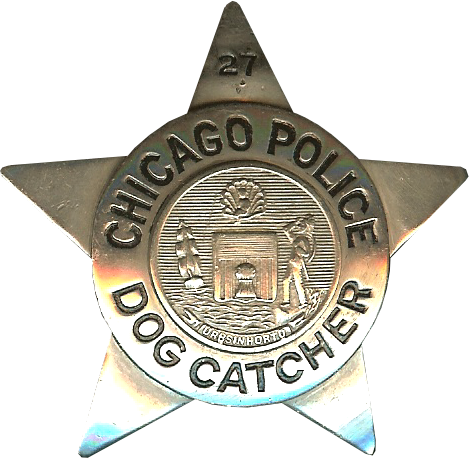 1905 Series - Chicago Police Dog Catcher Star - New Seal Obverse