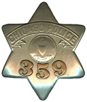1905 Series - Chicago Police Patrolman - Old Seal Obverse