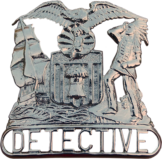 1908 Series - Chicago Police Detective Hat Shield - Obverse