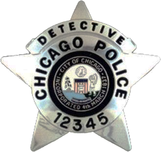 2002 Series - Chicago Police Detective Star - Obverse