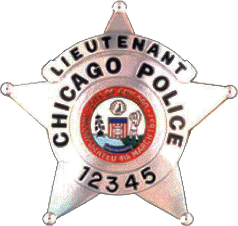 2002 Series - Chicago Police Lieutenant Star - Obverse
