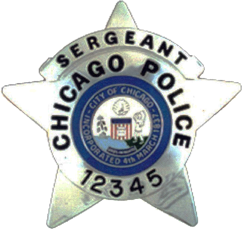 2002 Series - Chicago Police Sergeant Star - Obverse