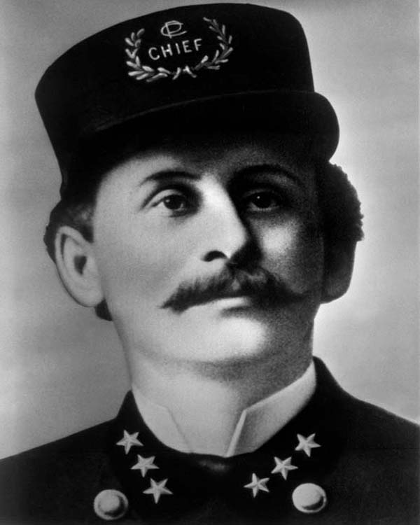 General Superintendent of Police Frederick Ebersold (1885 - 1888)