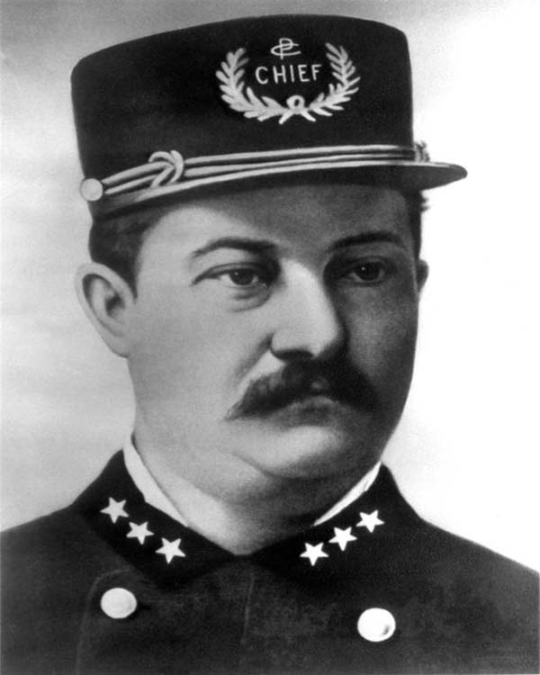 General Superintendent of Police George W. Hubbard (1888 - 1889)