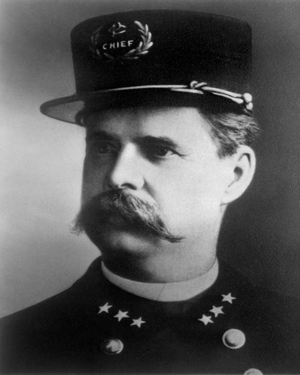 General Superintendent of Police Frederick H. Marsh (1890 - 1891)