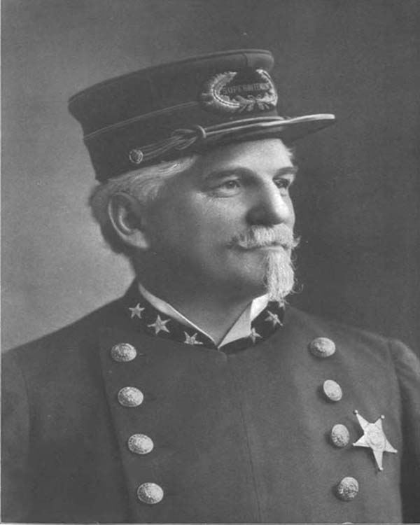 General Superintendent of Police Joseph Kipley (1897 - 1901)