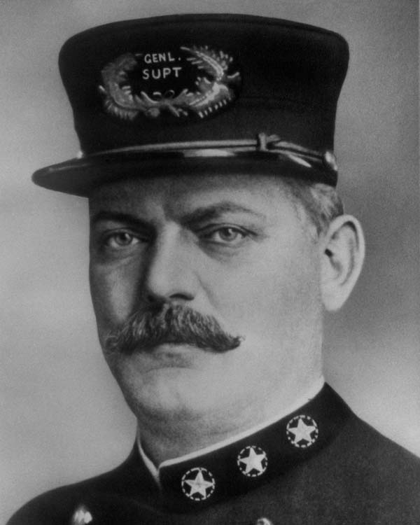 General Superintendent of Police George M. Shippy (1907 - 1909)