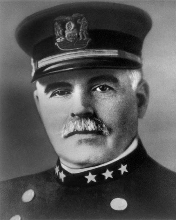 General Superintendent of Police John McWeeny (1911 - 1913)