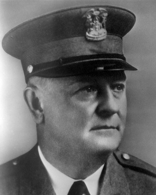 Commissioner of Police William F. Russell (1928 - 1930)