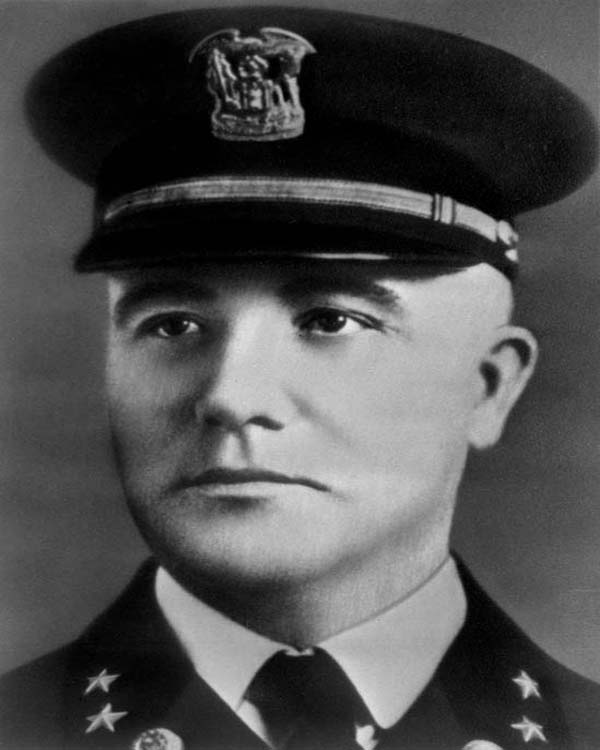 Commissioner of Police James P. Allman (1931 - 1946)