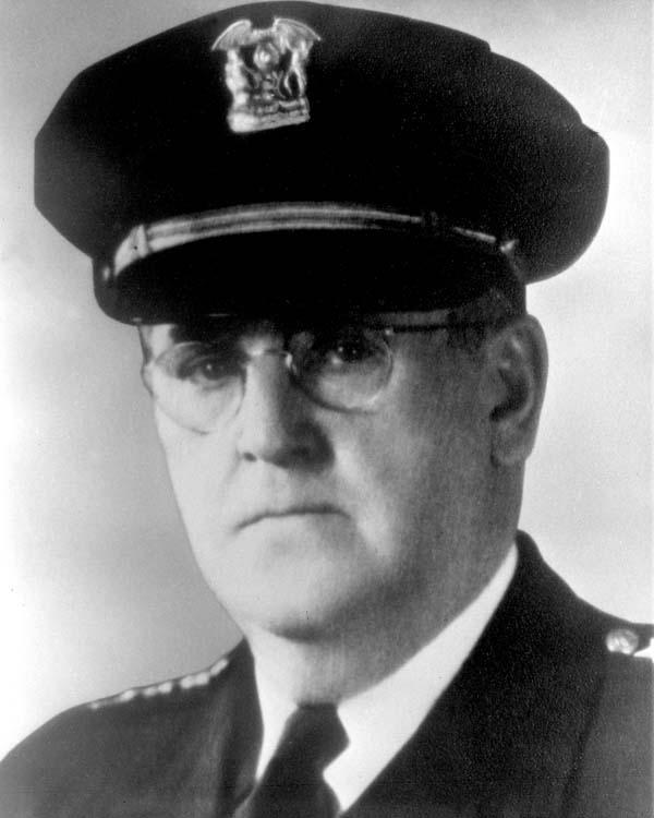 Commissioner of Police John C. Prendergast (1946 - 1950)