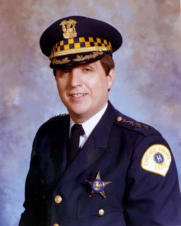 Superintendent of Police Richard J. Brzeczek (1980 - 1983)