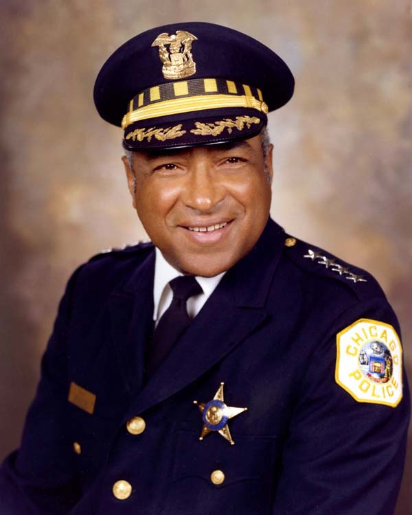 Superintendent of Police Fred Rice, Jr. (1983 - 1987)