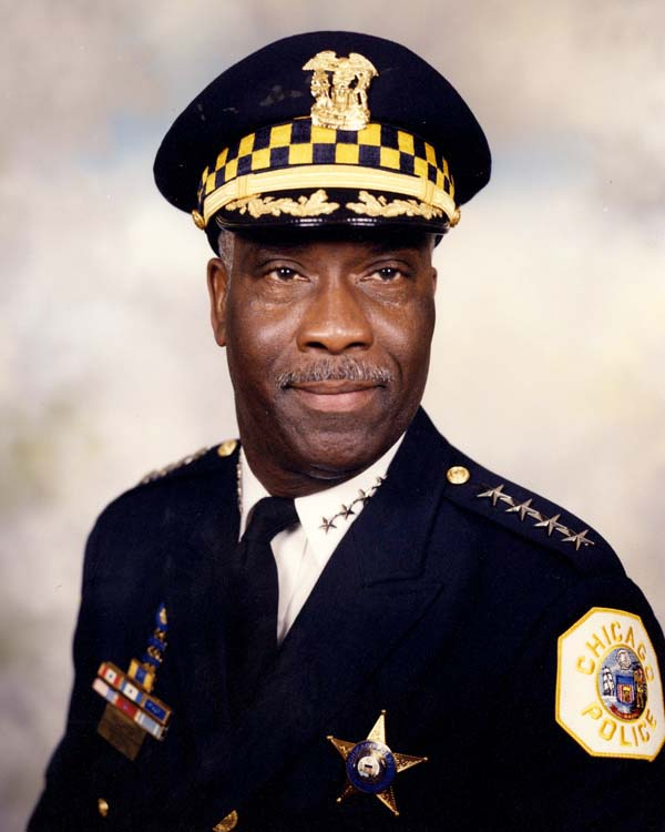 Superintendent of Police Terry G. Hillard (1998 - 2003)