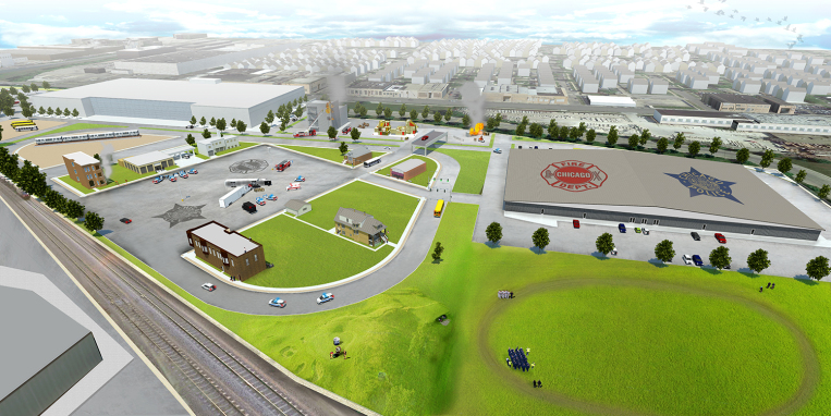 Architectural Renderings of the New Public Safety Training Academy Released