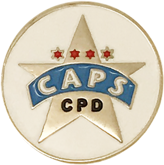 CAPS Lapel Pin