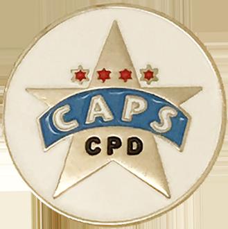 CAPS Lapel Pin