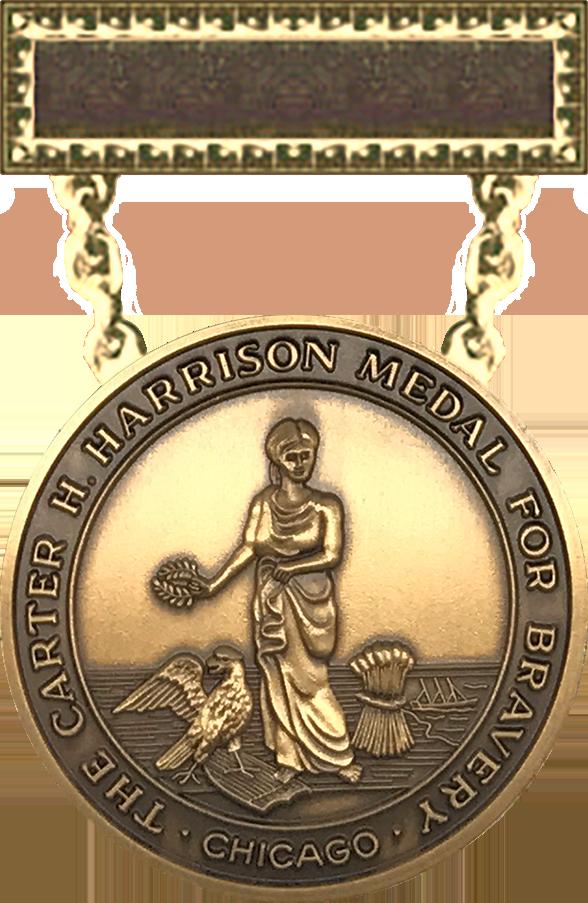 Carter H. Harrison Medal - 1889 Series Obverse
