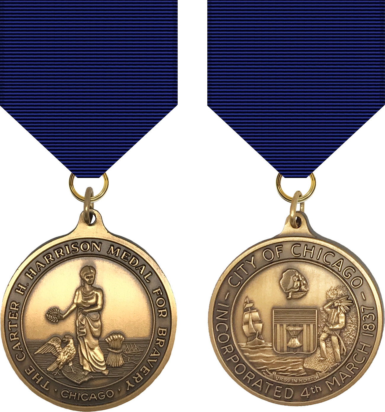 Carter H. Harrison Medal - 1969 Series