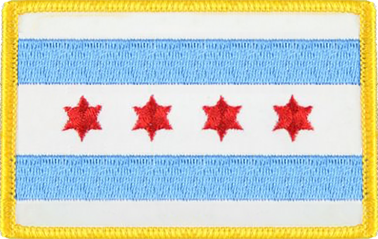 Chicago City Flag - Standard