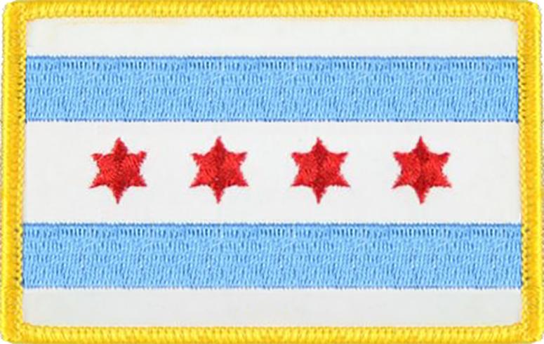 Chicago City Flag - Standard