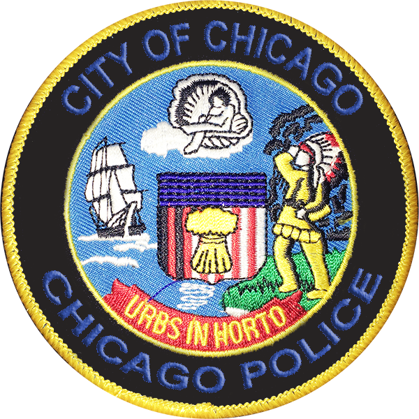 Chicago City Seal Cap Patch