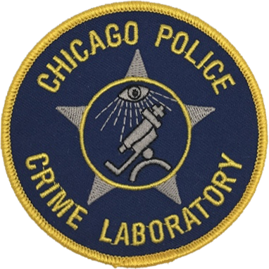Chicago Police Crime Laboratory Patch