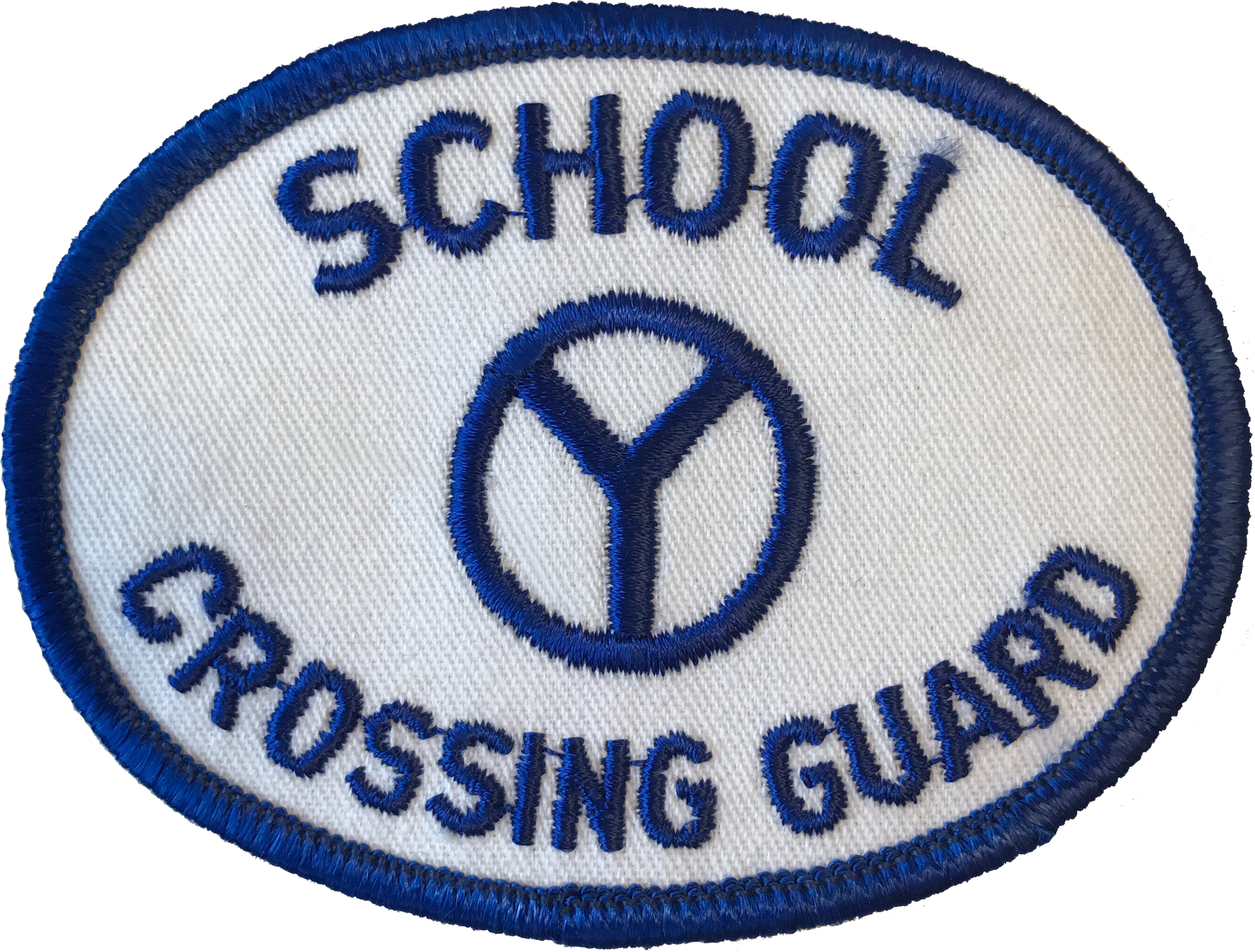 Chicago Police Crossing Guard Hat Patch