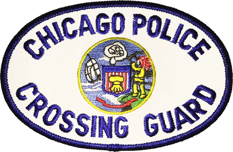 Chicago Police Crossing Guard Shoulder Patch