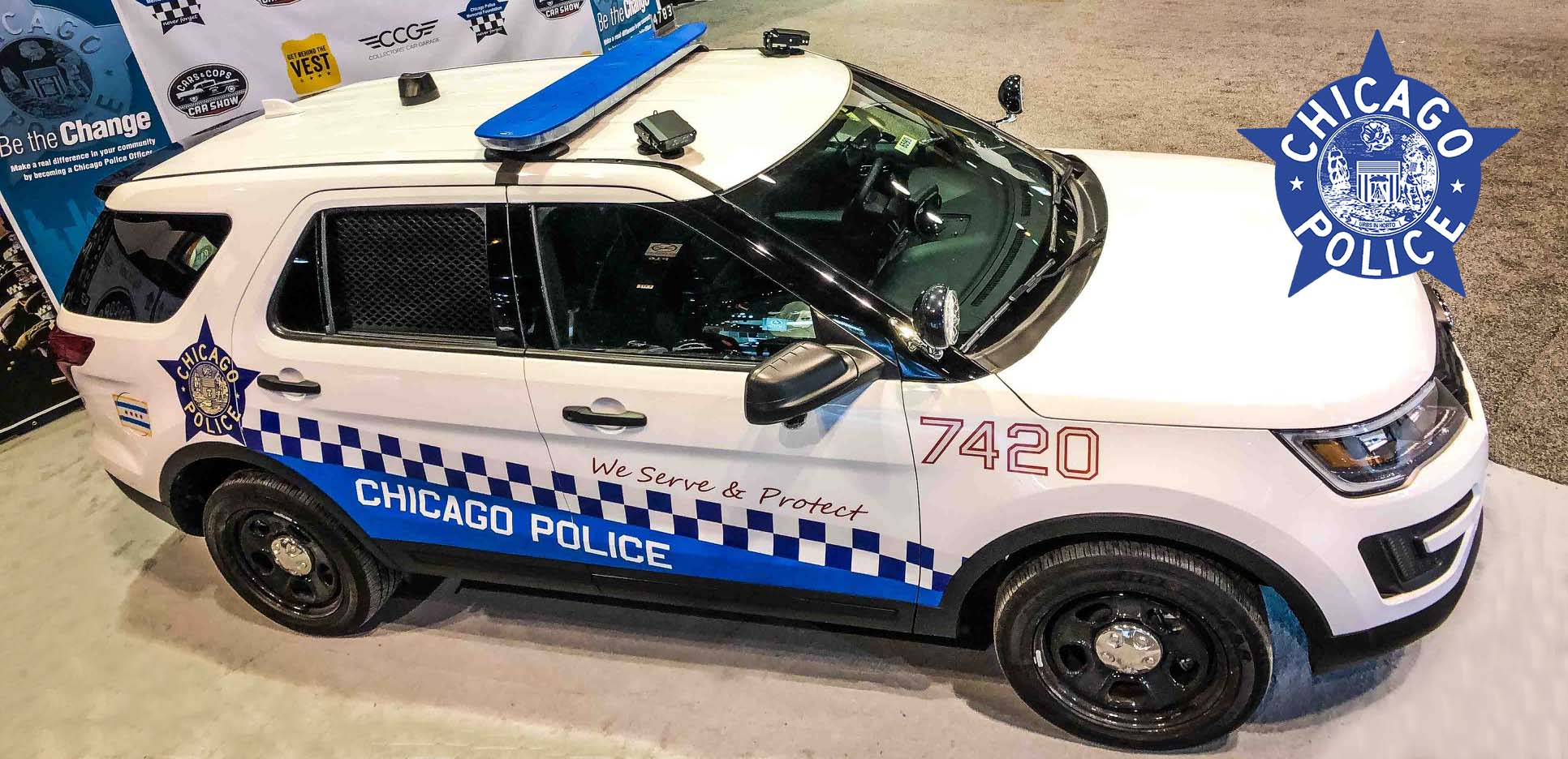 Home for Chicago motors used police cars
