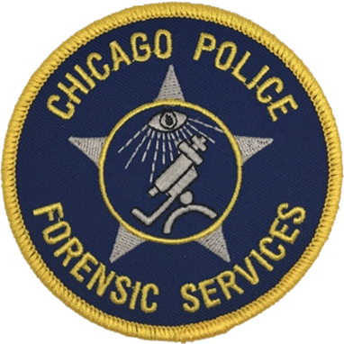 Chicago Police Forensic Services Patch