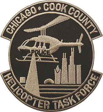 Chicago Police Helicopter Operations Shoulder Patch