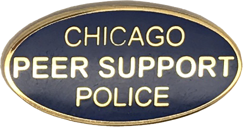 Chicago Police Peer Support Badge