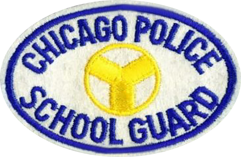Chicago Police School Guard Shoulder Patch - 1960's Series