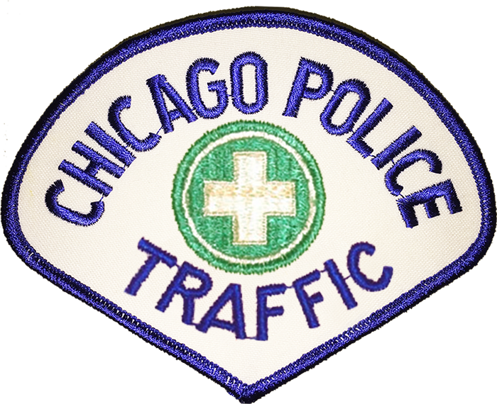 Chicago Police Traffic Shoulder Patch