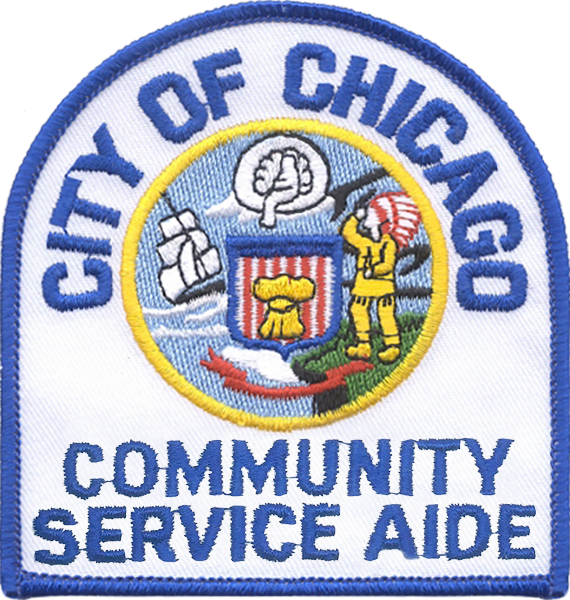 Community Service Aide Shoulder Patch