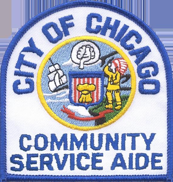 Community Service Aide Shoulder Patch