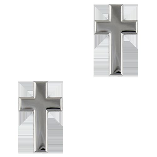 Cross - Silver Tone