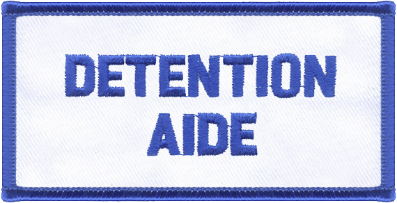 Detention Aide Designator Patch