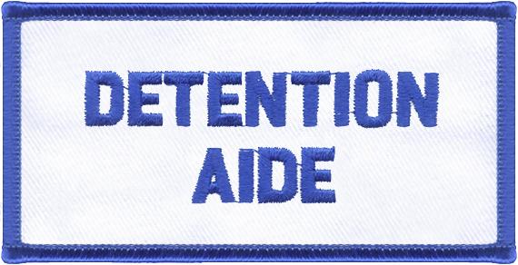 Detention Aide Designator Patch