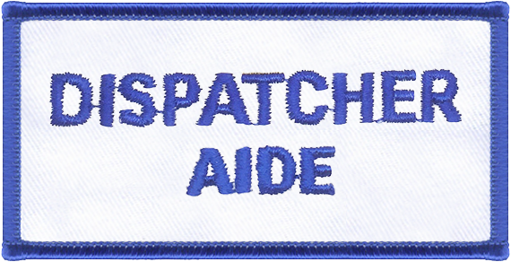 Dispatcher Aide Designator Patch