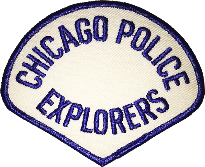 Chicago Police Explorers Shoulder Patch