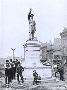 Haymarket Memorial Statue